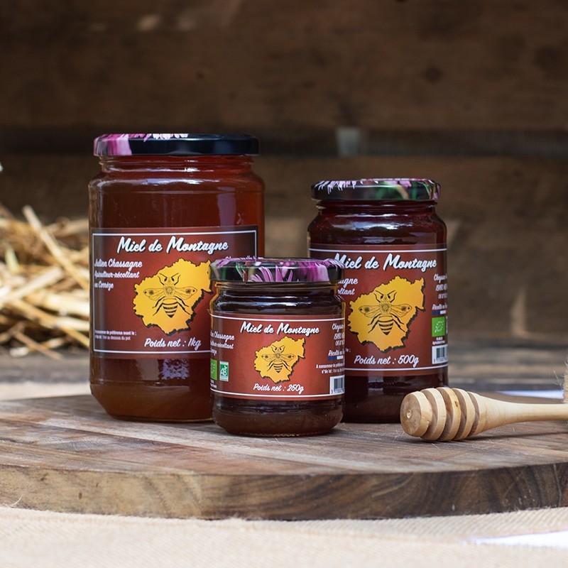 Bio92-miel de montagne français bio