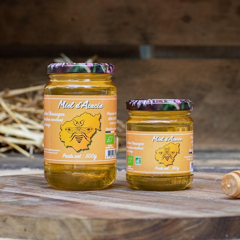Bio92-miel d'acacia français bio