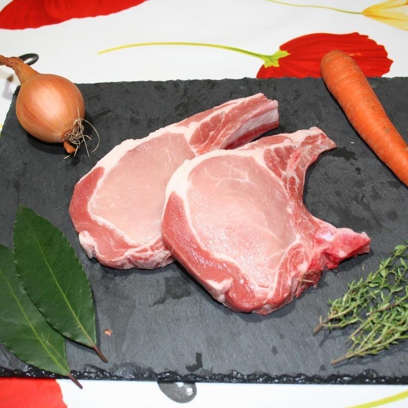 Bio92-cote de porc filet cochon de marzan