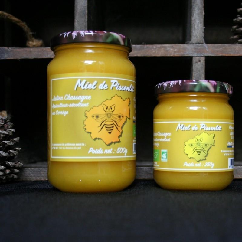 Bio92-miel de pissenlit français bio -julien chassagne