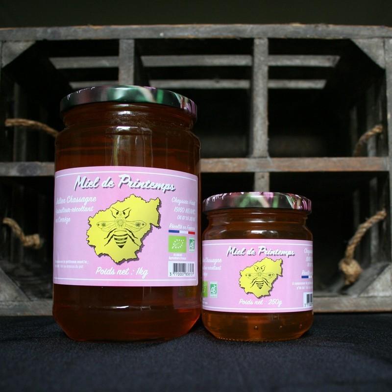 Bio92-miel de printemps français bio -julien chassagne