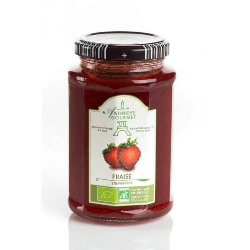 Bio92-confitures -andresy-bio-fraise