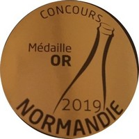 Médaille d'or au concours Normandie 2019